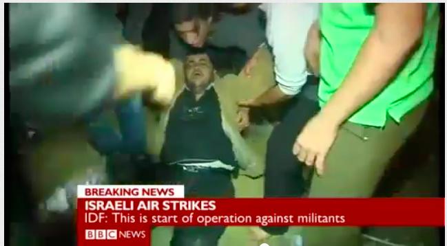 BBC airs fake Hamas video.